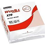 クレシア ワイプオールX70 クロスライク 4つ折り 50枚 不織布ワイパー レギュラー 60575