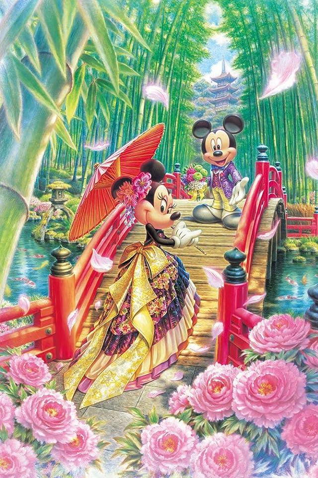 ディズニー ミニーの和モダンウエディング iPhone(640×960)壁紙 画像39656 スマポ
