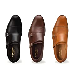 Cannon: Black, Dark Brown, Tan