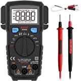 BSIDE Pocket Digital Multimeter True RMS 6000 Counts Auto-Ranging Electricians DMM Temperature Capacitance Diode Hz V-Alert C