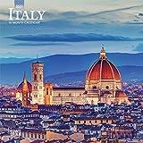 Italy 2021 7 x 7 Inch Monthly Mini Wall Calendar, Scenic Travel Europe Italian Venice Rome