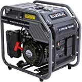 KULLER Inverter Generator 4.2KW Max 3.5KW Rated Pure Sine Wave Single-Phase Petrol DC Output Camping