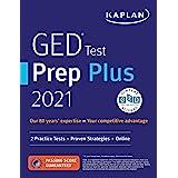GED Test Prep Plus 2021: 2 Practice Tests + Proven Strategies + Online (Kaplan Test Prep)