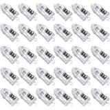 Novelty Place 30 Pcs White LED Mini Party Light for Paper Lantern, Balloons, Weddings and Festival Decorations - Long Lasting