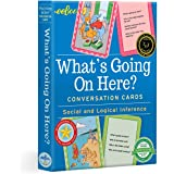 eeBoo What's Going On Here? Conversation Flashcards