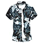 ポロシャツ メンズ 半袖 大きいサイズ Masinalt プリント半袖ラペルシャツポロシャツ メンズ ゴルフウェア シンプル 吸汗速乾 スリム ドライメッシュ春夏季対応 トップス ビジネス カジュアル M/L/XL/XXL/XXXL
