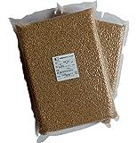 【元年産】JAS有機栽培米あきたこまち 玄米5kg(真空パック2.5kg×2)