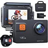 APEMAN Action Camera A87,Ultra 4K 60FPS WiFi 20MP HD Underwater Waterproof 40M Sports Camcorder with 170 Degree EIS Advanced