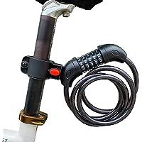 ARCH-GLOBAL 自転車 鍵 ダイヤル ロック 5桁 【 防水 最新2020 錆びにくい亜鉛合金強化モデル 】 バ…