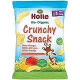 Holle Organic Crunchy Snack,Millet-Mango, 25g