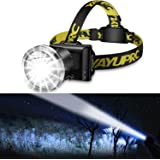 Headlamp Flashlight 3 Variable Beams Ultra Bright Spotlight USB Rechargeable Headlight for Adult - Waterproof Searchlight for