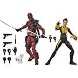 Marvel Classic E9288 Hasbro Design and 13 Accessories Legends Series X-Men 6-inch Collectible Deadpool and Negasonic Teenage