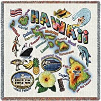 Pure Country Inc. Hawaii State Small Blanket Tapestry Throw [並行輸入品]