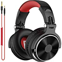 OneOdio Pro10 ヘッドホン 50mmドライバー プロフェッショナル DJ用 モニターヘッドホン 有線 密閉型…