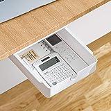 Under Desk Storage, Under Desk Drawer, Hidden Small Desk Drawer For Reduced Clutter, Under Desk Organizer For Office/Kitchen/