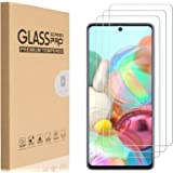 HEYUS [3 Pack] for Samsung Galaxy A71 Screen Protector (NOT Fit A71 5G), 9H Hardness Premium Tempered Shatterproof Glass Scre