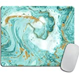 Marble Mousepad, Glitter Mousepad, Desk Decor, Office Accessories, Modern Mouse Pad, Personalized Mouse Pad, Rectangle Mousep