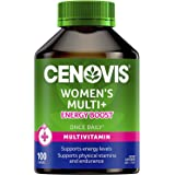 Cenovis Women's Multi+ Energy Boost - Multivitamin - Supports physical stamina - Assists sugar metabolism, 100 Capsules