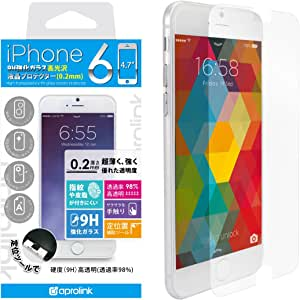 aprolink HighTransparency9Hglassscreenprotector0.2mm foriPhone6 i6GLHT02