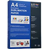 LIT Sublimation Paper 8.3 x 11.7 Inch, 100 Sheets,110gsm - Heat Transfer Paper For Any Epson Sawgrass HP Inkjet Printer With