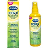 Dr. Scholl's Probiotic Foot Spray 4oz Immediately Eliminates and Prevents Odors from Returning Shoe Deoderizer, 4 Ounce