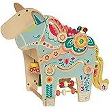 Manhattan Toy 213880 Playful Pony Wooden Toddler Activity Center