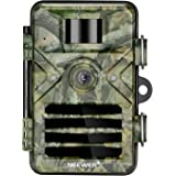 Neewer Trail Camera 16MP 1080P HD Outdoor Game Hunting Cam 940nm Security Night Vision Motion Activated Cameras with 2.4 inch
