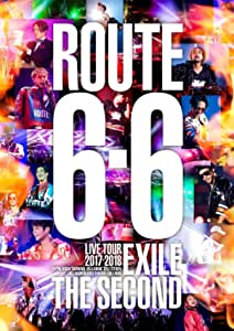 """EXILE THE SECOND LIVE TOUR 2017-2018 """"ROUTE 6・6""""(Blu-ray Disc 2枚組)(通常盤)"""