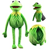 South Park Frog Puppets Plush Chucky Doll,Kermit The Frog Hand Puppet Plush Toy Doll Stuffed Parent-Child Interactive Games C