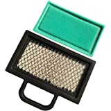 HEYZLASS 499486S 698754 Air Filter, for Briggs Stratton 499486 Lawn Mower Air Filter Cartridge, Fit B&S 18-26 HP Intek V-Twin