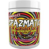 Tim Muriello's Spazmatic Preworkout (Strawberry) - 400mgs Caffeine - 6 Grams Pure Citrulline for Muscle Pumps- Fast Acting Fo