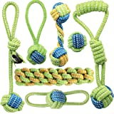 Dog Rope Toy Puppy Chew Tug of War Dog Toys Playtime and Teeth Cleaning Toys for Small Dogs Safe Pet Supplies for Small Puppi