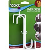 Hookz HK24101 Over Door Hook 2pk,White