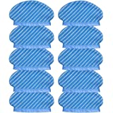 10Pcs Mop Cloth Pads Set for Ecovacs Deebot Ozmo 920 950 Vacuum Cleaner Parts
