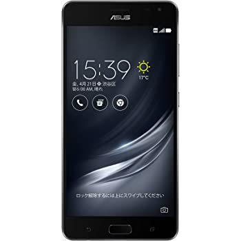 ASUS ZenFone AR SIMフリースマートフォン (ブラック/5.7インチ)【日本正規代理店品】(Snapdragon 821/6GB/64GB/3300mAh) ZS571KL-BK64S6/A