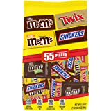 Snickers, M&M'S & Twix Fun Size Chocolate Candy Variety Mix