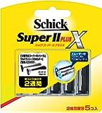 シック Schick スーパーIIプラスX 2枚刃 替刃 (5コ入)