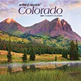 Colorado Wild & Scenic 2021 7 x 7 Inch Monthly Mini Wall Calendar, USA United States of America Rocky Mountain State Nature