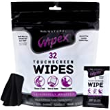 Wipex Alcohol-Free Touchscreen Cleaning Wipes for Fitness Tech, Smartphones, Tablets, TVs, Monitors, Laptops, Computer Screen