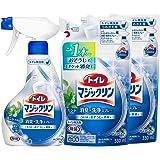 【まとめ買い】トイレマジックリン トイレ用洗剤 消臭・洗浄スプレー ミントの香り 本体×1個+替×2個