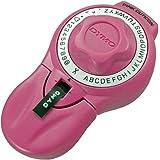 ダイモ テープライター キュティコン 9mm幅テープ対応 英数字 ピンク DM814580