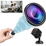 Mini Spy Camera Wireless Hidden, 2020 Full HD 1080P Portable Small Nanny Cameras Covert Cop Cam, Micro USB Security Surveilla