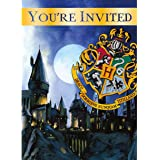 Harry Potter Party Invitations, 8 Ct.
