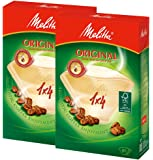 メリタ Melitta コーヒー フィルター ペーパー 4~8杯用 1×4 用 80枚入り ×2個 セット オリジナルシ…
