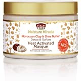 African Pride Moisture Miracle Detox & Soften Heat Activated Hair Masque 340g