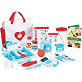 Melissa & Doug Get Well Doctor's Kit Play Set | Pretend Play | Play Set | 3+ |  Boy or Girl