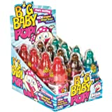 Myriad Big Baby Pop Sour Lollipop Bottle, 12 x 30 Grams