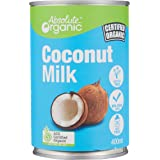 Absolute Organic Coconut Milk, 400g