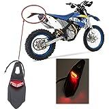 ONGMEIL テールランプ LED レッド バイク 汎用 エンデューロ テールライト テール