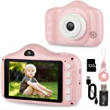 Kids Camera, 40MP/30MP/28MP/12MP Digital Camera for Kids Gifts, 3.5 Inch Large Screen 1080P Digital Video Camera for Kids wit